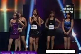 Yo Soy: Imitadoras de Corazón Serrano alborotan casting - Video
