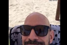 Ricardo Morán luce orgulloso su 'pelada' a través de las redes sociales