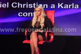 EVDLV: Jeannine cuenta encuentros íntimos con Christian Domínguez - Video