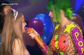 Billboard 2014 en vivo: Katy Perry le cantó 'Birthday' a una fan (Fotos)