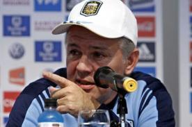 Brasil 2014: Alejandro Sabella le bajó el dedo a 4 jugadores