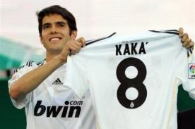Champions League: Kaká afirma que su corazón está con Real Madrid.