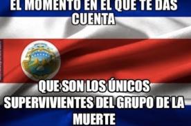 Mundial 2014: Circulan ocurrentes memes tras la victoria de Costa Rica