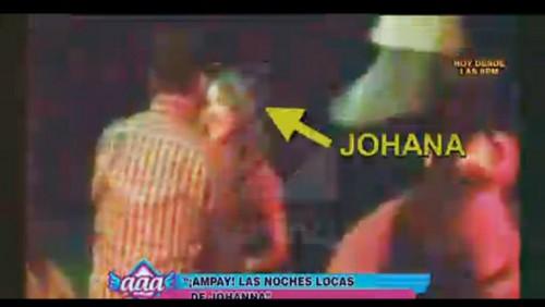 ¿A quién atrapó? Johanna San Miguel luce nuevo galán en discoteca [VIDEO]
