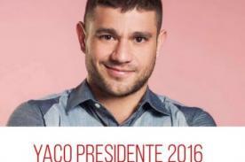 No es broma: ¿Yaco Eskenazi puede ser el próximo presidente del Perú? - FOTO