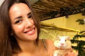 Rosángela Espinoza muestra todo en este video de infarto - VIDEO
