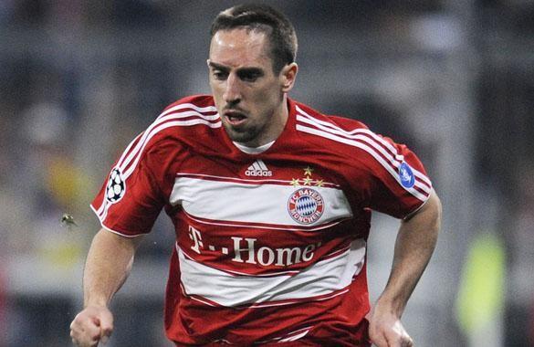 Zinedine Zidane quiere a Franck Ribéry en el Real Madrid