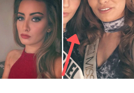 Miss Irak tuvo que huir de su país por una inocente foto