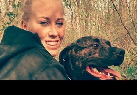Mujer fue asesinada en el bosque por sus dos perros Pitbull