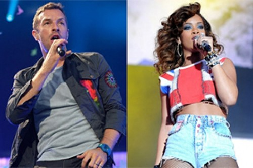 Rihanna y Coldplay interpretarán Princess of China en los Grammy 2012