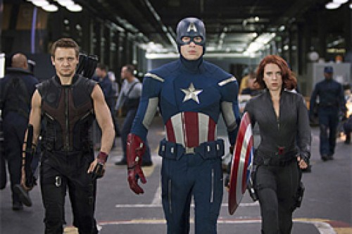 The Avengers: Nueva imagen con Chris Evans y Scarlett Johansson