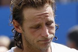 David Nalbandian fue multado por la ATP por patear a juez de campo (Video)
