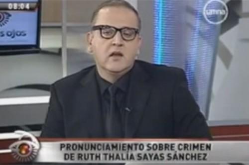 Beto Ortiz: Ruth Thalía está en las primeras planas por aparecer en EVDLV