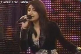Yo Soy: Myriam Hernández volvió al casting para convencer al jurado - Video