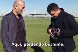 Real Madrid: Zinedine Zidane bromea con Ronaldo y su barriga