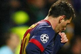 Barcelona: Lionel Messi no celebró gol para Thiago como lo había planeado