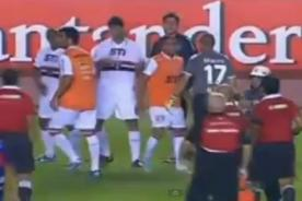 Video: Pelea del Sao Paulo vs Tigre - Final Copa Sudamericana