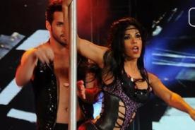 El Gran Show: Karen Dejo derrochó sensualidad en pole dance - Video