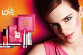 Emma Watson se luce en fotografía de la nueva campaña de Lancome