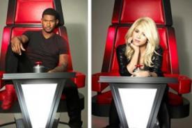 Shakira y Usher se lucen en nuevas fotos promocionales de The Voice