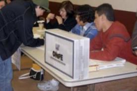 Revocatoria 2013: Multa por no cumplir como miembro de mesa será de 185 soles