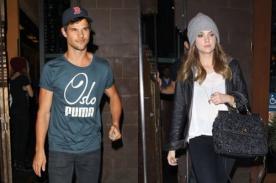Taylor Lautner y Ashley Benson vuelven a salir juntos