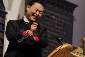 PSY ofreció discurso en Harvard ante mil estudiantes