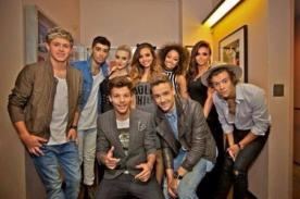 One Direction y Little Mix posaron juntos en los Teen Choice Awards 2013