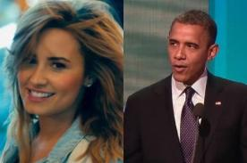Demi Lovato quiere cantar 'Made in the USA' con Barack Obama