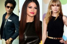 MTV VMA 2013: Selena Gomez se sentará en medio de Taylor Swift y Bruno Mars