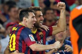 Video de goles: Barcelona venció a Almería por 2-0 - Liga BBVA