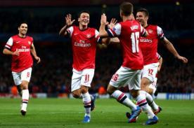 Video - Con Mesut Ozil como figura, Arsenal goleó al Norwich City