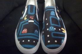 Zapatillas curiosas de Pac-Man: Divertidas y adictivas