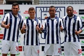 Alianza Lima presentó a sus refuerzos para afrontar la temporada 2014