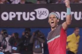 Open de Australia 2014: Nadal pasa a la final venciendo a Federer (Video)