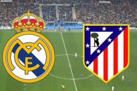 Copa del Rey: Real Madrid VS Atlético de Madrid en vivo por DIRECTV