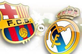 Liga BBVA: Real Madrid vs Barcelona ya tiene fecha y hora