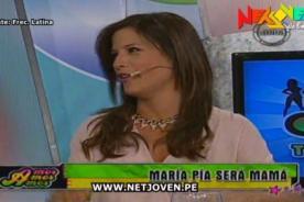 ¡Maria Pía Copello confirmó en vivo que está embarazada! - VIDEO