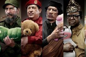 ¿Tierno? Dictadores abrazando peluches invaden redes sociales - FOTOS