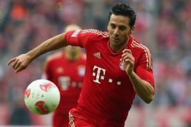 Bayern Munich derrota a Stuttgart con gol de Claudio Pizarro - VIDEO