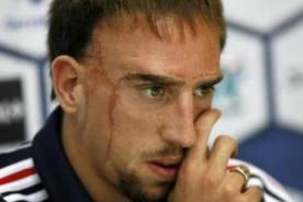Franck Ribéry: Brasil 2014, será mi última Copa del Mundo