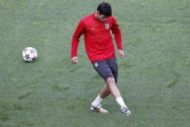 Champions League: Diego Costa entrenó con normalidad