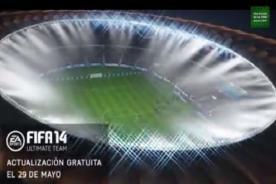 Mundial 2014: FIFA 14 lanza tráiler de la Copa del Mundo de Brasil - Video