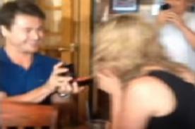 Insólito: Viaja 4 años para proponer matrimonio a su novia [Video]