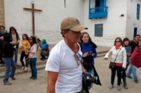 [Fotos] Antonio Banderas disfruta Cusco con fiesta de la Virgen del Carmen
