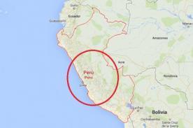 Reportan terremoto en Ayacucho de 7 grados