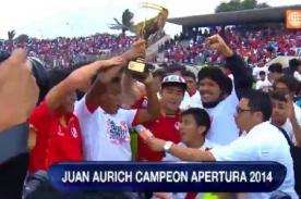 Torneo Apertura 2014: Juan Aurich vs Universitario (2 - 0) - Video de goles
