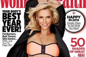 ¿Exceso de Photoshop? ¡Britney Spears luce irreconocible en esta portada!