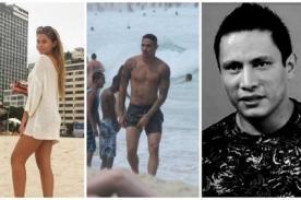 ¿Brunella Horna olvidó a Renzo Costa con Paolo Guerrero en playas de Río de Janeiro?