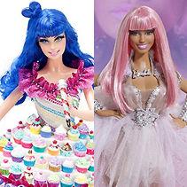 Katy Perry vs Nicki Minaj: ¿Quién tiene la mejor muñeca Barbie?